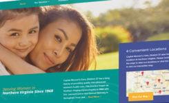 Comprehensive Women's Care of Northern Virginia web design