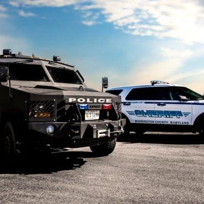 Washington County Maryland Sheriff's Office Website Design