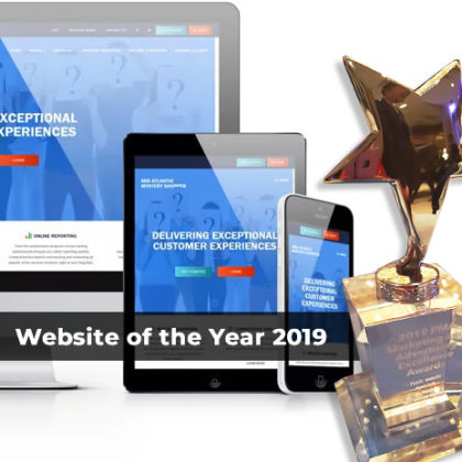 Website of the Year, PMA 2019 Marketing and Advertising Excellence Award